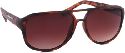 Joe Black JB-706-C4 Rectangular Sunglasses(Brown)