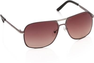 Allen Solly AS215 C3 Rectangular Sunglasses(Brown)