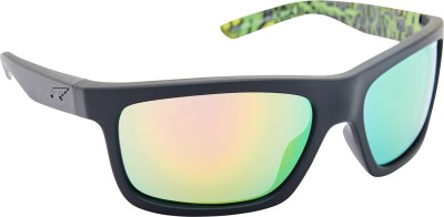 Arnette AN_4190_EMMULTIBLK Rectangular Sunglasses(Multicolor)