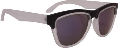 Floyd 403_BLK_WHT_ICE_MERCURY Wayfarer Sunglasses(Blue)