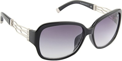 Farenheit �1816-c1 Rectangular Sunglasses(Grey)