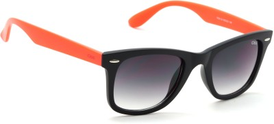 IDEE IDEE-1928-C4 Wayfarer Sunglasses(Black, Green)