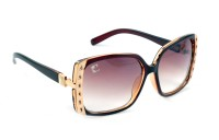 Clark N Palmer CNP-DS1217-BR Over-sized Sunglasses(Brown)