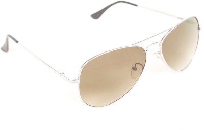 6by6 SG417 Aviator Sunglasses(Brown)