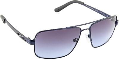 Farenheit 1300 Rectangular Sunglasses(Blue)
