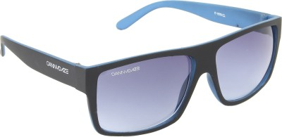 Danny Daze D-3224-C3 Rectangular Sunglasses(Violet)