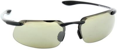 Maui Jim KANAHA_MJ_H409_02 Rectangular Sunglasses(Blue)