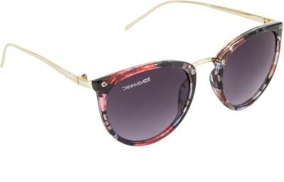 Danny Daze D-2105-C4 Wayfarer Sunglasses(Violet)