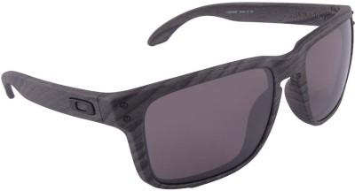 Oakley Holbrook Woodgrain w/Prizm Daily Polar Wayfarer Sunglasses