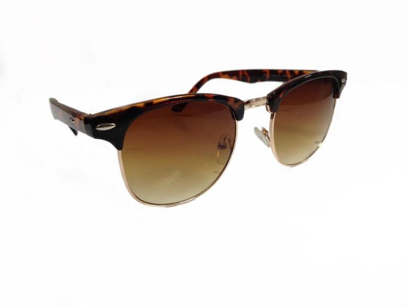 MIT Sunglasses X-KM-014-R Wayfarer Sunglasses(Brown)