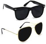 Cruze Combo Wayfarer, Aviator Sunglasses...