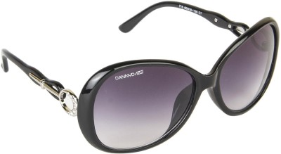 Danny Daze D-277-C1 Over-sized Sunglasses(Black)