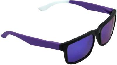 Alphaman Metallic Mercury Madrisno Wayfarer Sunglasses
