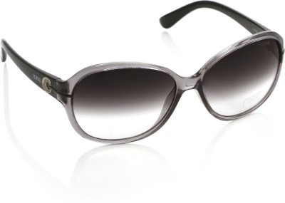 IDEE 1780 C3 Over-sized Sunglasses(Black)