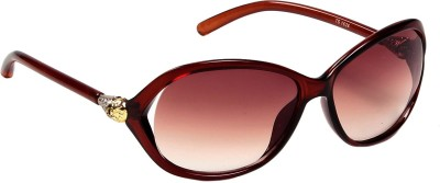 Ted Smith Oval Sunglasses