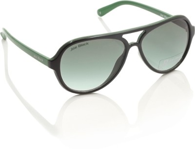Joe Black JB-568-C2 Aviator Sunglasses(Green)