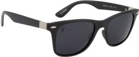 The Blue Pink MS-0101M Wayfarer Sunglasses(Black)