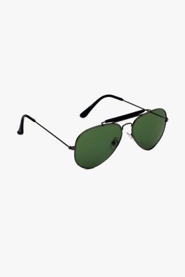 6by6 SG1410 Aviator Sunglasses(Green)