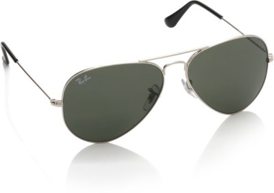 4eb947ba99 Ray Ban RB3025I 003 58 Aviator Sunglasses Green available at Flipkart for  Rs.4768