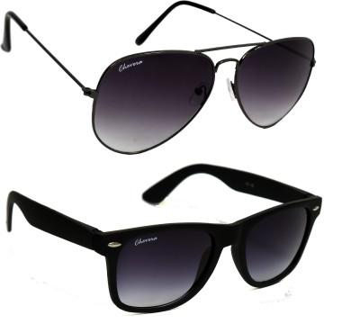 Chevera Wayfarer, Aviator Sunglasses