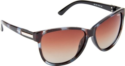 IMAGE S487-C2P Over-sized Sunglasses(Brown)