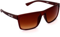 Garfield 200-2-BRN Wayfarer Sunglasses(Brown)