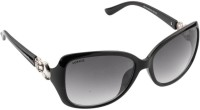 Voyage MG248 Rectangular Sunglasses(Black)