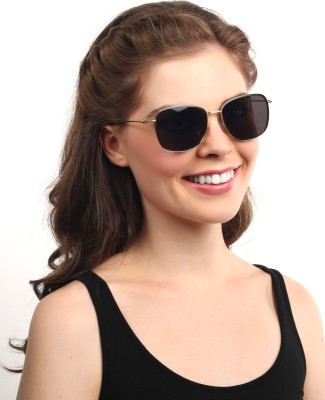 Djorn Exclusive Italian Design Rectangular Sunglasses