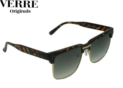 Verre 154 Wayfarer Sunglasses(Black)