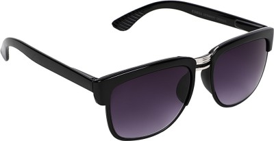 Benevolent Solid Delight Wayfarer Sunglasses
