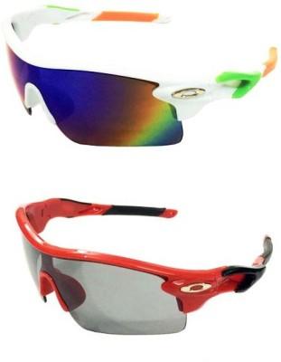 Eye Jewels Trendy Combo Sports Sunglasses