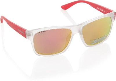 Joe Black JB-554-C5 Wayfarer Sunglasses(Green, Pink, Yellow)