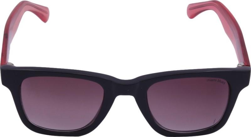 Miami Blues MB066A Wayfarer Sunglasses(Brown)