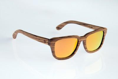 WOOD WORKS INC. Beaverhead Rectangular Sunglasses