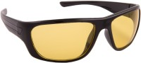 Blackburn BB101 Wrap-around Sunglasses(Yellow)