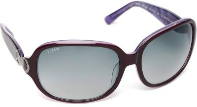Glares by Titan G022CXFL9D Over-sized Sunglasses