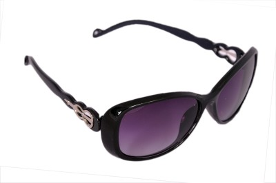 Urbanware CT0001 Cat-eye Sunglasses(Violet)