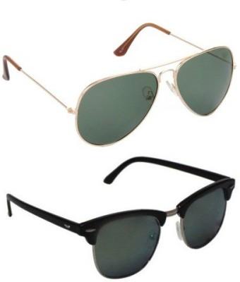 Edge Plus Aviator, Round Sunglasses