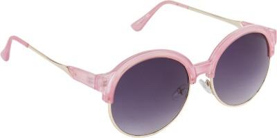 Danny Daze D-2800-C3 Round Sunglasses(Violet)