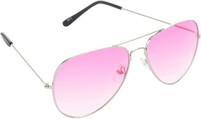 Red Leaf RD-BX37_1 Aviator Sunglasses(Pink)