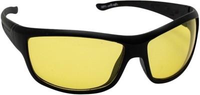 VIJEX NIGHT DRIVE Wrap-around Sunglasses