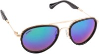 Voyage MG230 Oval Sunglasses(Blue)