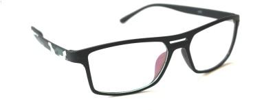 VIJEX Clear Arc Oval Sunglasses