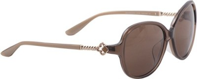 Celine Dion Oval Sunglasses
