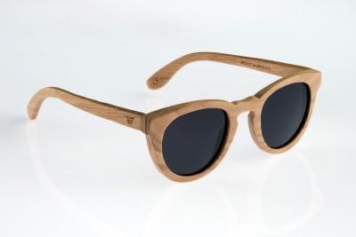 WOOD WORKS INC. Beenoskee Round Sunglasses