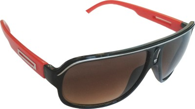 Major Sports Over-sized, Rectangular Sunglasses