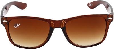Omnesta 7brown Rectangular Sunglasses