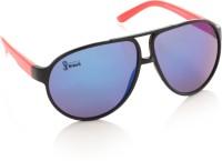 FIFA FB-S-103 Aviator Sunglasses(Blue)