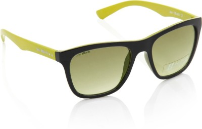 Joe Black JB-551-C1 Wayfarer Sunglasses(Yellow)