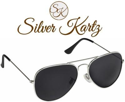 Silver Kartz Casual Aviator Sunglasses
